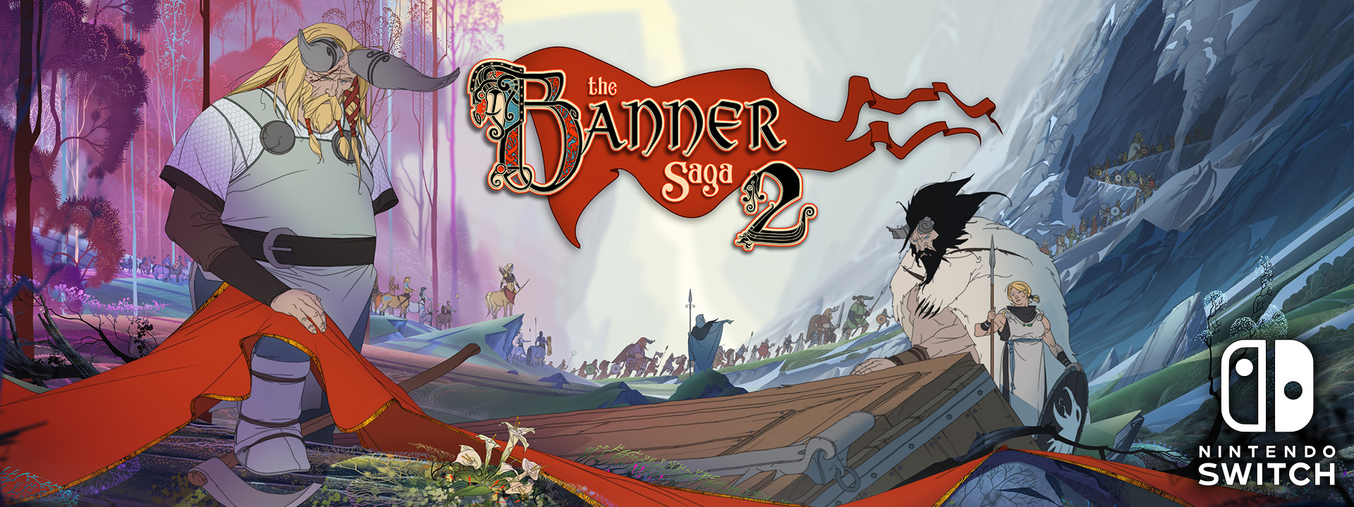 The Banner Saga Coming to Consoles January 12th